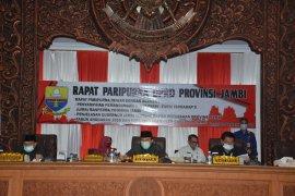 Fraksi DPRDsampaikan pemandangan umum terhadap lima Ranperda Pemprov Jambi