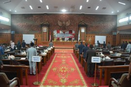 DPRD bentuk empat pansus kaji lima ranperda provinsi