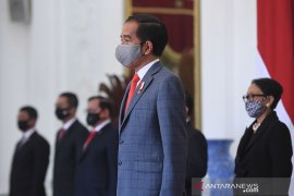 Presiden Jokowi lantik 20 duta besar Indonesia untuk negara sahabat