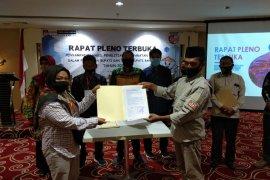 KPU Banjar serahkan hasil penelitian persyaratan bapaslon Bupati Banjar