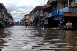 Banjir di Kalbar, Pemprov siapkan 100 ton cadangan beras