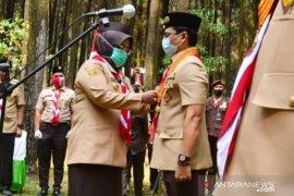 Bupati Ade Yasin ingin Pramuka Bogor lebih menarik perhatian milenial