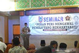 Pembukaan Seminar PWI Kalsel
