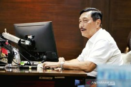 Presiden Jokowi perintahkan Luhut Panjaitan tangani COVID-19 di 9 provinsi