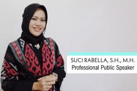 South Kalimantan's Suci Rabella in the final 2020 Indonesian Teacher Prize