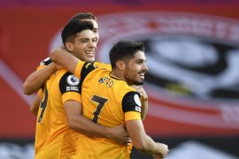 Dua gol cepat antarkan Wolves menundukkan Sheffield 2-0