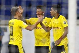 Sancho, Bellingham membawa Dortmund menang 5-0 dalam Piala Jerman