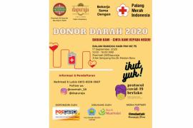 Roemah 28-PMI Medan gelar donor darah, catat tanggalnya
