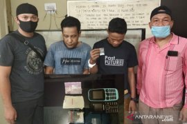 Satres Narkoba Polres Tanjungbalai tangkap dua pria pemilik narkotika