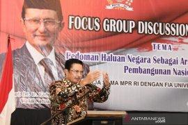 Fadel: Arah pembangunan nasional harus lebih konsisten
