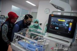 Gubernur Jabar tinjau RSKIA Bandung