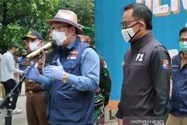 Ridwan Kamil sampaikan empat hal dalam perang melawan COVID-19 di Kota Bogor