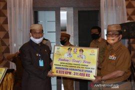Gorontalo Utara terima 311.400 kg bansos beras
