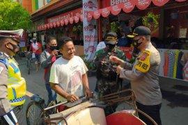 Operasi yustisi protokol kesehatan di Kabupaten Indramayu jaring 3.234 pelanggar