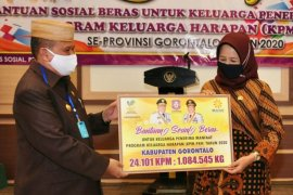 Pemprov Gorontalo salurkan beras PKH bagi 61.901 KPM