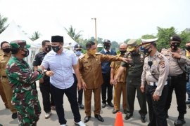 Wali Kota Serang Syafrudin  minta warganya tidak pergi ke luar daerah saat PSBB
