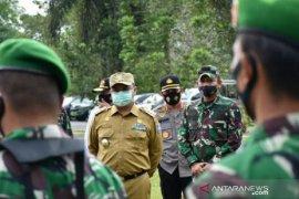 Gubernur Babel tinjau pengamanan Pilkada 2020 di Bangka Selatan