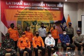 25 relawan ikuti Latihan SAR Daerah di Cianjur