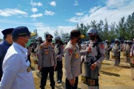 Kapolda Babel pantau kesiapan pengamanan Pilkada di Bangka Barat