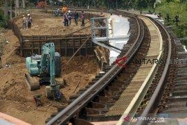 Jalur rel ganda Bogor-Sukabumi ditargetkan selesai Agustus 2021