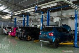 Kinerja bengkel body repair Suzuki naik saat pandemi