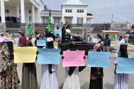 Sejumlah Ormas tuntut bupati copot Kepala DPMG Aceh Timur