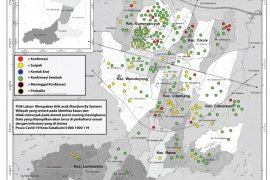 Penyebaran COVID-19 di Kota dan Kabupaten Sukabumi rambah kluster keluarga
