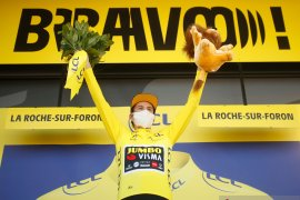 Tour de France: Klasemen sementara setelah etape ke-18