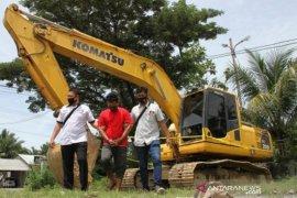 Polisi tangkap sejumlah penambang emas ilegal, tiga alat berat diamankan