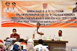 Pemkab Gorontalo Utara pacu penerapan e-kinerja BKN terintegrasi