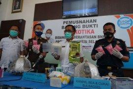 BNNP tangkap pengedar dan sita 1,6 kg sabu-sabu
