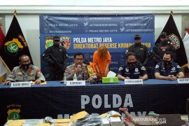 Polisi gelar rekonstruksi kasus pembunuhan dan mutilasi di Kalibata City