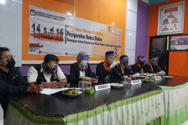 KPU Lamongan verifikasi berkas bacawabup perseorangan pengganti Muhammad Su'udin