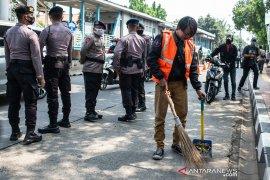 Sebanyak 114.133 orang terjaring Operasi Yustisi COVID-19 di DKI Jakarta