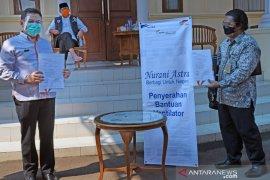 ASTRA Tol Tanggerang-Merak Salurkan Bantuan Ventilator Untuk RS Banten
