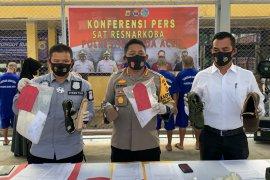 Polisi amankan tiga wanita dan lima pria jaringan narkoba di Aceh