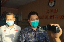 Dua bapaslon Pilkada Medan lengkapi berkas syarat pencalonan