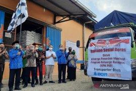 Bantuan Sosial Beras di Jambi mulai disalurkan ke KPM PKH