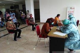 Tes usap tahap pertama di DPRD Maluku melebihi target