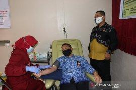 Peringati milad ke-54, KAHMI dan KOHATI HSS donor darah