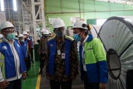 Pemerintah terus berupaya tingkatkan pertumbuhan industri baja nasional