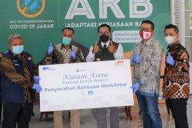 Astra Financial serahkan tiga ventilator untuk masyarakat Jabar