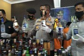 Polresta Mojokerto tangkap 24 pengedar narkoba selama dua pekan terakhir