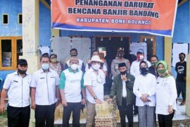 Pemkab Gorontalo serahkan bantuan bagi korban bencana di Bone Bolango