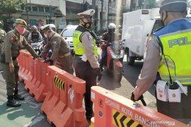 Penutupan lima ruas jalan di Kota Bandung juga berlaku pada sore hari