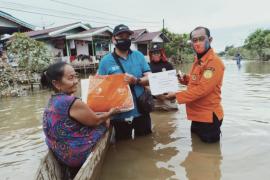 BNI Putussibau salurkan paket bantuan untuk korban banjir