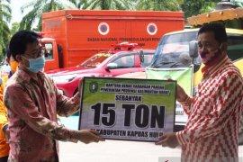 Pemprov Kalbar bantu 15 ton beras untuk korban banjir Kapuas Hulu