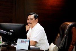 Luhut minta gubernur delapan provinsi siapkan hotel untuk isolasi OTG Corona