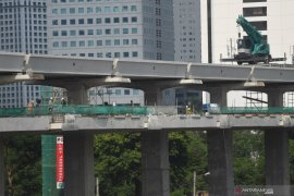Greater Jakarta LRT project 77 percent complete
