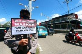 Foto - Operasi Yustisi di Gorontalo cegah penyebaran COVID-19